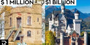 $1 Million VS $1 Billion Castles