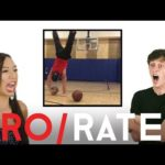 Athletes React: Trick Shots