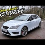 BANG FOR BUCK.. EPIC *FIRST DRIVE* IN THE SEAT LEON CUPRA 290!