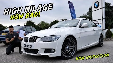 BMW INSPECTED MY HIGH MILEAGE TUNED 335D..THIS COULD END BADLY!