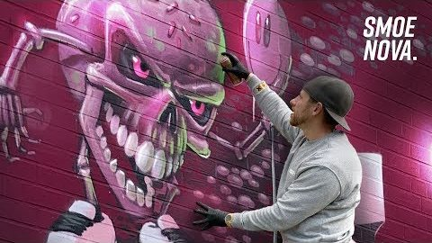 Candy Monster Graffiti Jam   FINEST Styles & Characters
