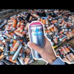 Creating Art with 1000 CANS (Only!! )