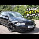 EPIC AK-47 FLAT SHIFTS IN THIS 480BHP MRC TUNED B5 AUDI RS4