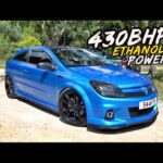EXPLOSIVE FLAT SHIFTING IN THIS 430BHP *E85 POWERED* ASTRA VXR!