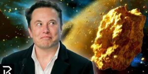 Elon Musk Is Mining A Golden Asteroid Worth $700 Quintillion