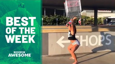 Extreme Shopping Cart Weightlifting | Best of the Week