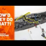 Extreme Ski Flips & More   How'd They Do That?!