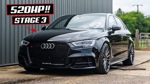 FIRST DRIVE IN A 520BHP AUDI S3 **HYBRID TURBO**