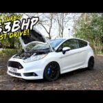 FIRST DRIVE IN MY STAGE 4 *BIG TURBO 363BHP* FORD FIESTA ST.. MAD!!