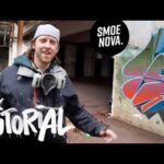 Graffiti TUTORIAL at Lost Place   Full Process with helpful VOICE OVER