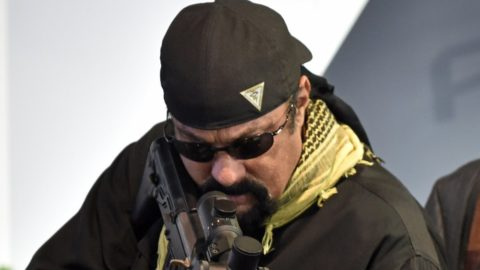 Here's how Steven Seagal got his start in law enforcement