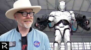 How Adam Savage Built A Real Iron Man Suit