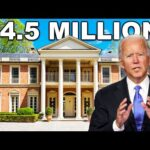 How Joe Biden Spends His Millions
