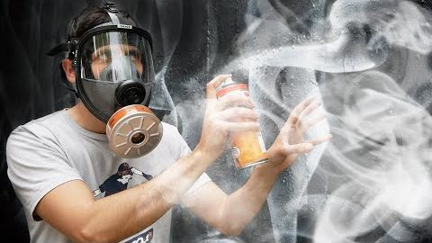 I try painting SMOKE (You won't SEE ME!)