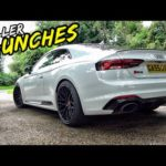 INSANE 504BHP AUDI RS5 0-60 LAUNCHES AND SAVAGE DRIVE BYS!