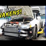 ITS ALIVE!! COLLECTING THE TURBO HONDA INTEGRA DC5.. MADNESS!