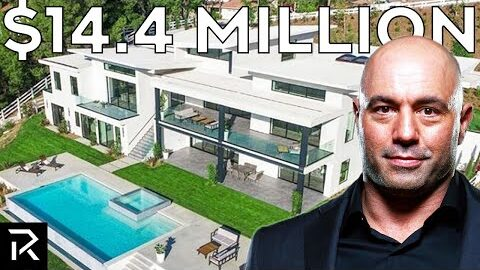 Inside Joe Rogan's $14 Million Mansion