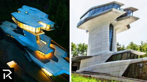 Inside The $140M Dollar Spaceship House
