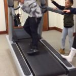 Kids On A Running Machine