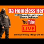 Let's Talk Homelessness with Da Homeless Hero Shams DaBaron