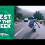 Longboarding Downhill, Parachuting, BMX Tricking, & More | Best of the Week