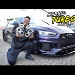 MY AUDI RS5 HYBRID TURBO *STAGE 3 BUILD* REVEALED!!