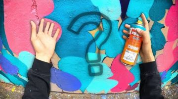 Painting INVISIBLE Graffiti (wait...WHAT!?)