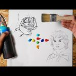 Painting STAR WARS + Lord of the Rings (this is EPIC)