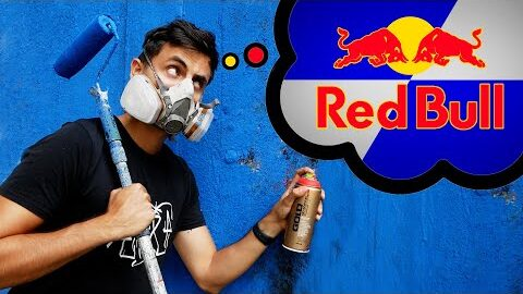 Painting a Mural in RedBull Style!