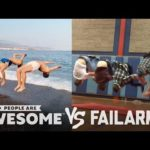 People Are Awesome vs. FailArmy | Backflips, Weightlifting, Nunchucks More!