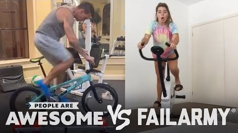 People Are Awesome vs. FailArmy | Biking
