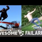 People Are Awesome vs. FailArmy | Martial Arts, Football, Gymnastics & More!