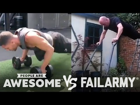 People Are Awesome vs. FailArmy | Weightlifting