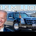"""Presidential Limo """"The Beast"""" Compared To Other Armoured Cars From Around The World"""