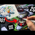 Procreate Graffiti Tutorial: improving 20 years old sketch on iPad pro