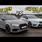 RACING MY SEAT LEON CUPRA 290 AGAINST AN AUDI RS3.. SURPRISING!!