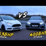 RACING THE BIG TURBO FIESTA ST AGAINST A STOCK RS3 PLUS MORE!!