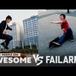 Skate Tricks, Freerunning, Basketball & More Wins VS. Fails | People Are Awesome VS. FailArmy!