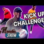 Stevo The Madman Referees Kick-Ups Challenge Between Mo And Big Narstie | The Big Narstie Show