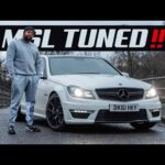 THE 513BHP C63 AMG **TRACTION OFF**