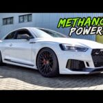 THE AUDI RS5 GETS A SICK METH INJECTION SET UP! MORE POWER!?