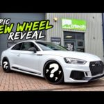 THE AUDI RS5 GETS NEW SHOES! EPIC NEW WHEEL REVEAL PLUS MORE!