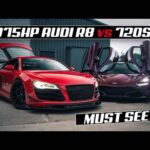 THIS 1000BHP TWIN TURBO R8 IS A MONSTER **STREET RACE**
