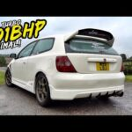 THIS 501BHP TERRIFYING BOOSTED EP3 TYPE R IS MAD! *BAD ENDING*