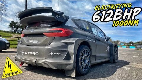 THIS 612BHP *100% ELECTRIC* RALLYCROSS FIESTA IS PURE INSANITY!