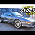 THIS 650BHP *K20 TURBO SWAPPED* MR2 IS NUTS!.. BUT ENDS BADLY