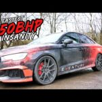 THIS *850BHP FULLY BUILT BIG TURBO* AUDI RS3 IS THE UK'S FASTEST!!