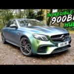 THIS *900BHP INCREDIBLE HULK* MERCEDES E63S IS BARBARIC AS HELL!