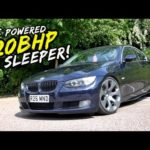 THIS BIG TURBO NOS POWERED 520HP BMW 330D IS MAD! *ENDS BADLY*