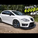 THIS BRUTAL *4WD CONVERTED 601BHP* CUPRA R IS PURE MADNESS!